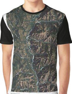USGS Topo Map Washington State WA Louie Creek 20110413 TM Graphic T-Shirt
