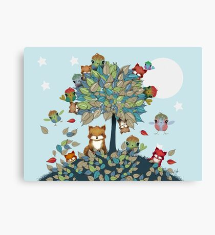 The Friendship Tree Canvas Print