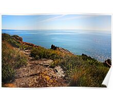 Beautiful Tasmania - Sparkling waters and colourful coast Poster