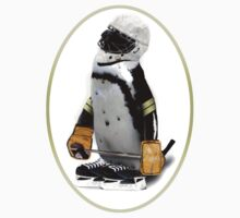 Little Mascot Hockey Player Penguin Kids Clothes