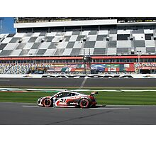 51 APR Audi R8 Grand-Am in the 50th Rolex 24 at Daytona with Dion von Moltke Photographic Print