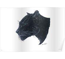 """""""Black Panther"""" Poster"""