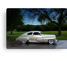 1947 Cadillac Rodtique  Canvas Print