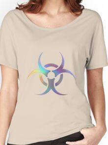 Biohazard symbol Women's Relaxed Fit T-Shirt