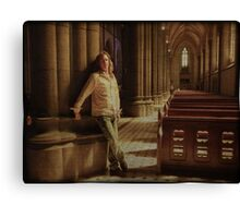 Son of a Preacher man Canvas Print