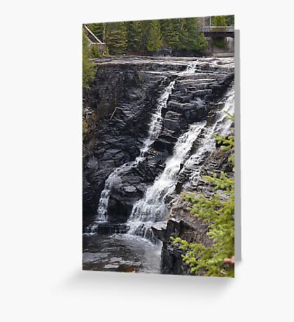 Kakabaka Falls Thunder Bay Greeting Card