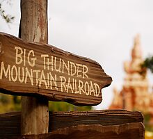 Big Thunder Sign by Pschtyckque
