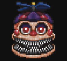 Nightmare Balloon Boy - Five Nights at Freddys 4 - Pixel art Kids Clothes