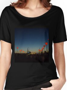 Kendall Calling Tulip Lineup Women's Relaxed Fit T-Shirt