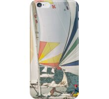 Racing yachts iPhone Case/Skin