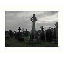 Clonmacnoise, Ireland Art Print