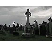 Clonmacnoise, Ireland Photographic Print