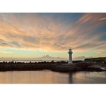 Light Me Up - Wollongong NSW Photographic Print