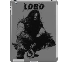 Lobo Silhouette iPad Case/Skin