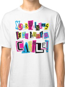 PRINCESS RANSOM NOTE Classic T-Shirt