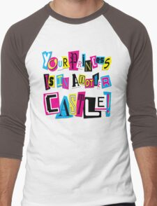 PRINCESS RANSOM NOTE Men's Baseball ¾ T-Shirt