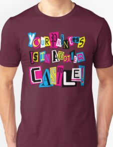 PRINCESS RANSOM NOTE Unisex T-Shirt