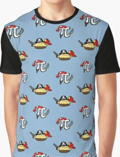 Pi and Pie Pirates pattern Graphic T-Shirt