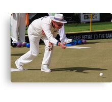 M.B.A. Bowler no. a398 Canvas Print