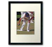 M.B.A. Bowler no. a455 Framed Print