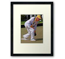 M.B.A. Bowler no. a453 Framed Print