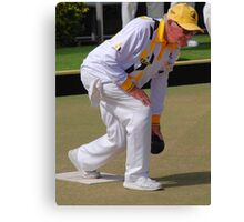 M.B.A. Bowler no. a453 Canvas Print
