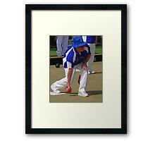 M.B.A. Bowler no. a458 Framed Print