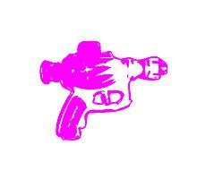 Alien Ray Gun - Pink Photographic Print