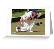 M.B.A. Bowler no. a461 Greeting Card