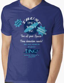 Timey-Wimey Inc Mens V-Neck T-Shirt
