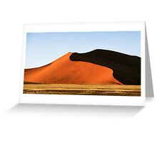 Red Sculptural Dune, Namibia Greeting Card