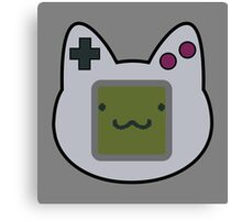 GameBoy Kitty Canvas Print