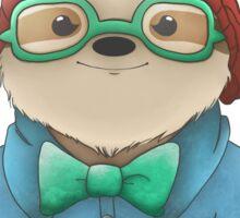 Hipster Sloth  Sticker
