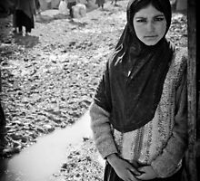 Afghan Refugee Girl 3 by David R. Anderson