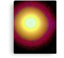 The Perigee Supermoon enhanced Canvas Print