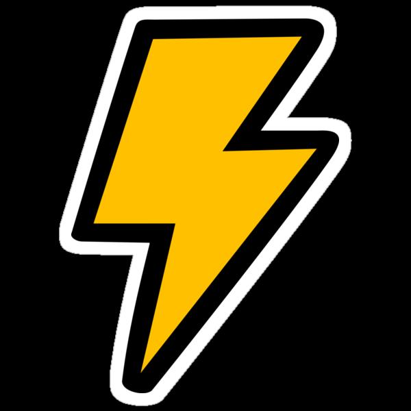 Cartoon Lightning Bolt pattern by jezkemp