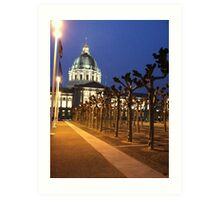 San Francisco City Hall Art Print