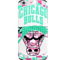 BULLS WHITE iPhone Case/Skin