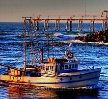 night of fishing by Mark Bilham
