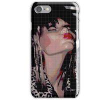 KISSEY FRAU LIPPEN STIFF iPhone Case/Skin