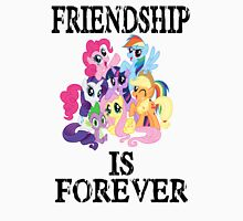 friendship is forever [black text] Unisex T-Shirt