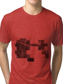 tadpole mind Tri-blend T-Shirt