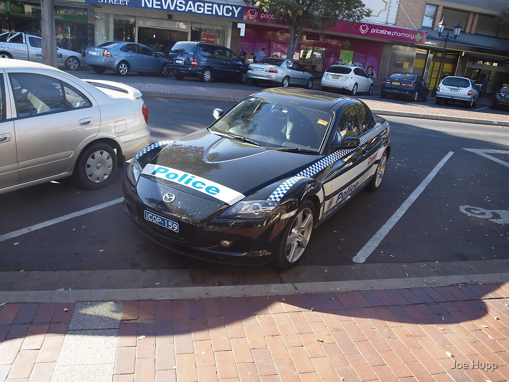 COP159 - Community Police Vehicle - Mazda RX8 by Joe Hupp