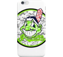 INDIANS WHITE iPhone Case/Skin