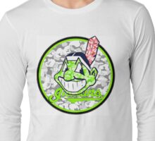 INDIANS WHITE Long Sleeve T-Shirt