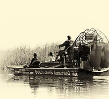 Airboat ride in Florida by Paul Wratislaw