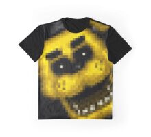 Five Nights at Freddy's 1 - Pixel art - Golden Freddy 2 Graphic T-Shirt