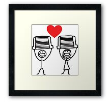The intercooler couple Framed Print