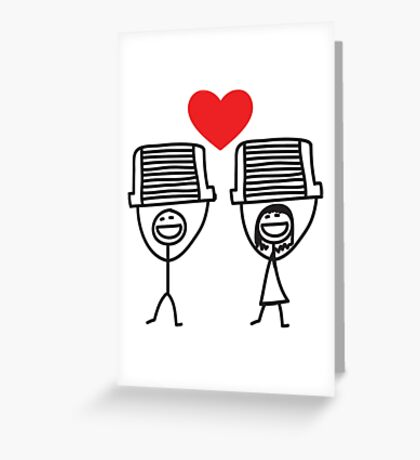 The intercooler couple Greeting Card