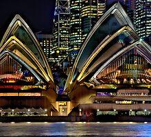 Sydney Opera House by Dianne English